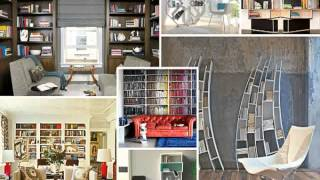 Creative Bookshelf decorating ideas