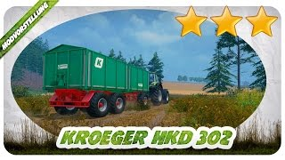 MAN KANN NIE GENUG ACHSEN HABEN! Kroeger HKD 302 Drei Achs Mod für Landwirtschafts Simulator 15