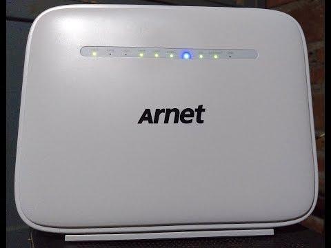 Configurar Modem Arnet MODELO VR9517VAC22-A-OS-AM