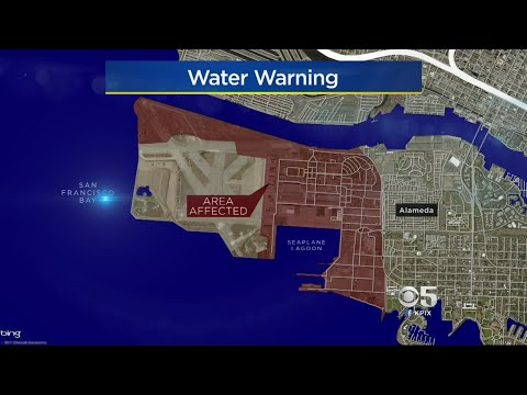 Alameda Point Urged Not To Drink Water, But Bodily Contact Okay