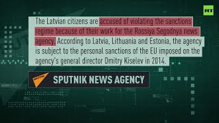 Russia's Sputnik and Baltnews journalists accused of violating EU sanctions