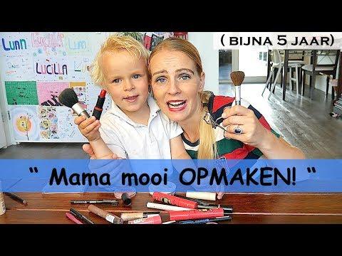 LUAN DOET MAMA MAKE-UP   LUAN BELLINGA VLOG #43