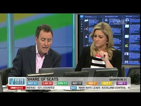 Vote 2014 - ONE News Election Night Coverage