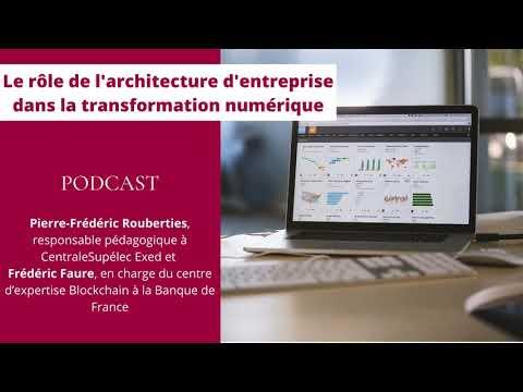 Podcast : Le rôle de l'architecture d'entreprise dans la transformation numérique