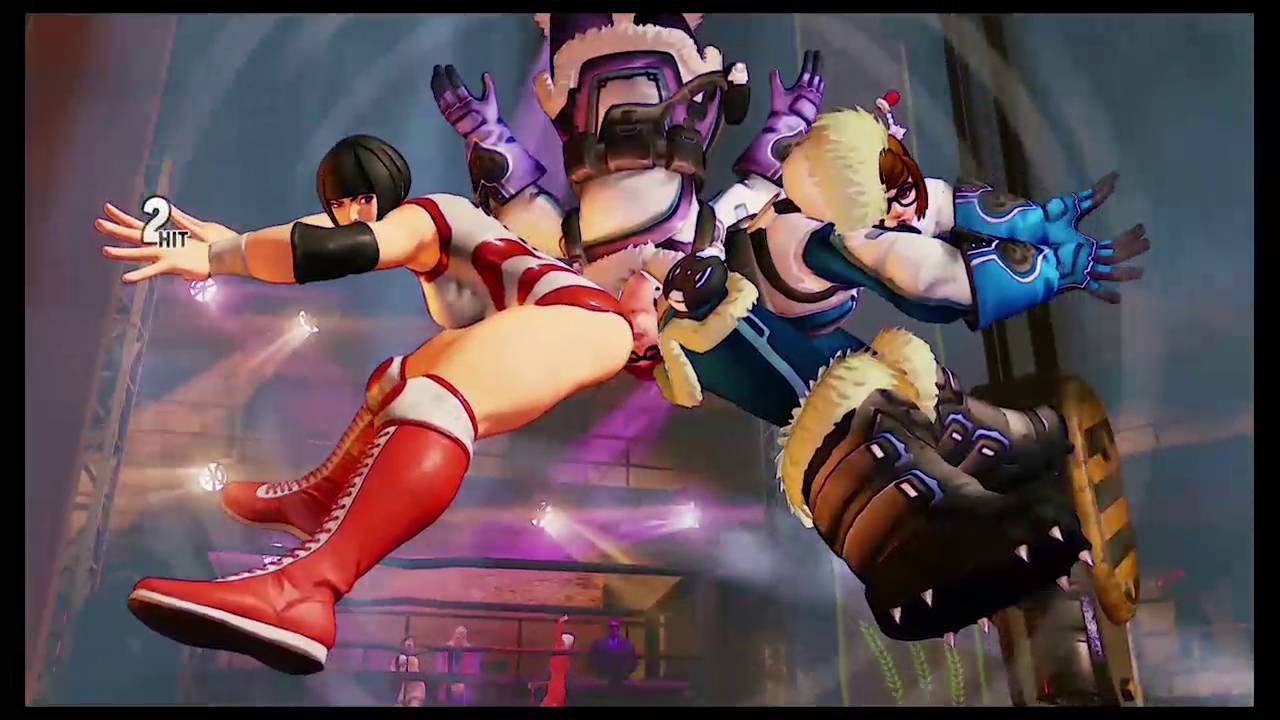 Overwatch characters modded into Street Fighter 5 look great