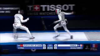 China vs France 2015 Moscow world Championship men