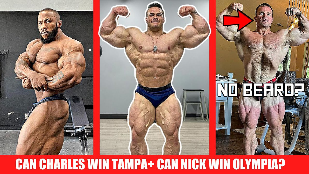 Charles Days From Tampa + Nick to Win the Arnold? + Seth Feroce Shaves his Beard?! + Roelly In/ Out?