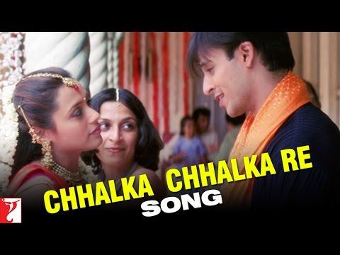 Chhalka Chhalka Re Song | Saathiya | Vivek Oberoi | Rani Mukerji