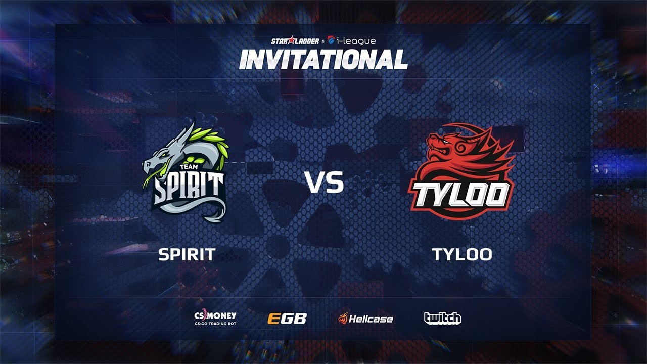 [EN] Spirit vs TyLoo, map 2 mirage, SL i-League Invitational Shanghai 2017