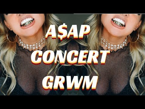 CONCERT GET READY WITH ME - A$AP MOB