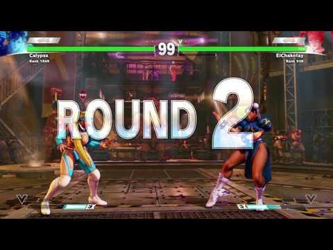 Rage Quit!!! STREET FIGHTER V (BETA) Calypsx (Chun li) vs ElChakotay (R.Mika)
