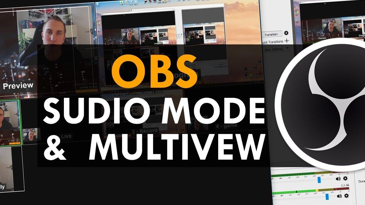 OBS Studio Tutorial - How to use Audio Meter, Studio Mode