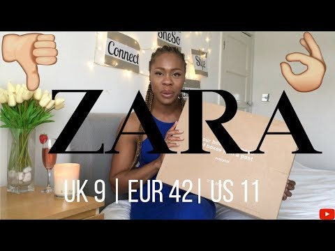 Zara - Try On Shoe Haul Size EUR 42 | UK 9 | US 11
