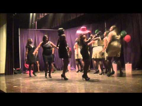 Alpha Kappa Alpha Probate at Wiley College Spring 2K11 Part 2