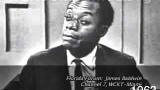 JAMES BALDWIN: Interview (Florida Forum, Miami)~~1963