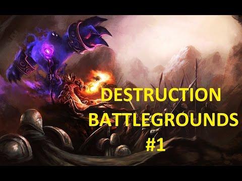 Wow 5.4 Destruction Warlock Battleground