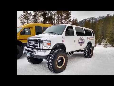 2018 Yellowstone Snow Coach Tour