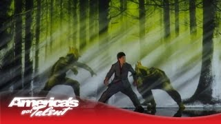 Kenichi Ebina - Robotic Dancer Becomes a Live Video Game Character - America