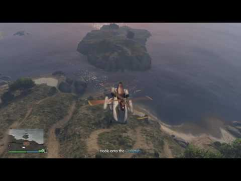 GTA V Online - Tips:  Import/Export Offshore Airlift / Cargobob