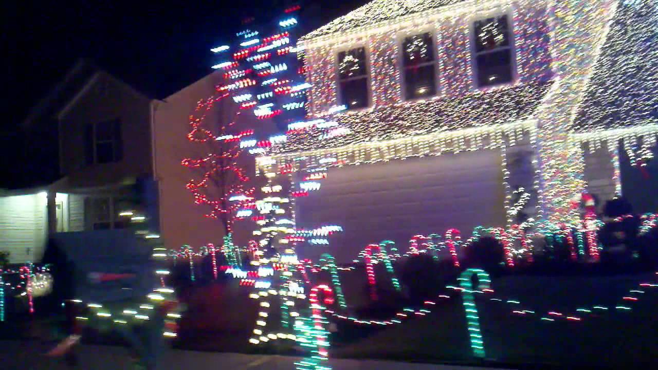 Delaware Ohio - Allot of Christmas Lights - YouTube