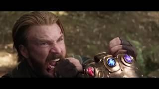Мстители война бесконечности Танос собирает камни  все сцены использования камней в фильме