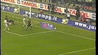 Serie A 2000/2001: AC Milan vs Juventus 2-2 - 2000.10.21 -