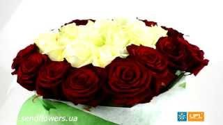 Букет Люблю. Заказать цветы на День Валентина - SendFlowers.ua(, 2014-02-13T15:27:42.000Z)