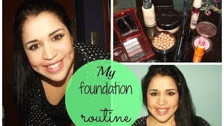 My foundation routine :) Thumbnail