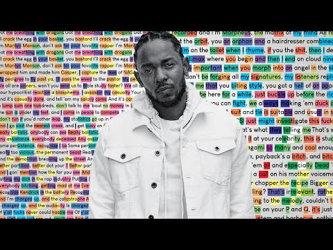 Download Kendrick Lamar - Rigamortis | Rhymes Highlighted