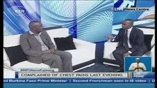 The Last Moments of Kajwang': Studio discussion with Kiharu MP Irungu Kang'ata