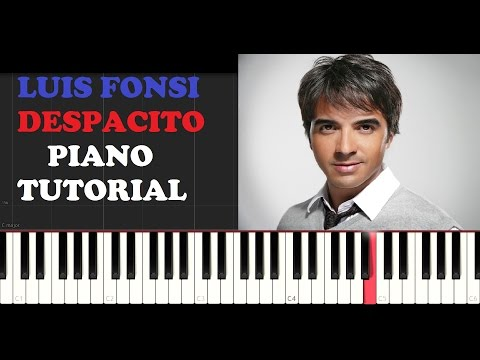 Luis Fonsi - Despacito (Piano Tutorial)