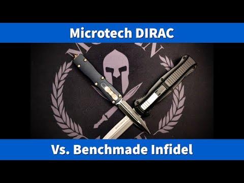 Microtech Dirac Vs. Benchmade Infidel
