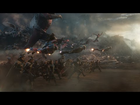 Мстители против Таноса. Финальная битва. Часть 2 | Мстители: Финал | Full HD