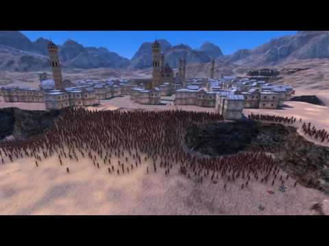 Archers vs Persian Roman