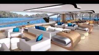 Carbon Superyacht Megayacht - Luxury Millionaire Lifestyle