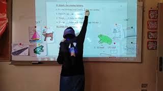 JR 1 EN Spelling List 2