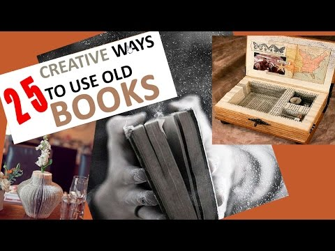 Fun Things to Do with Old Books!