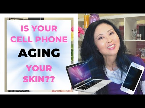 Anti Aging Tip Blue Light Skin Care-Is your Phone AGING Your Skin?