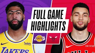 GAME RECAP: Lakers 101, Bulls 90