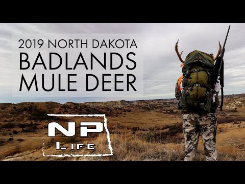 North Dakota Public Land Mule Deer | 2019 Badlands Rifle Hunt | NPLife