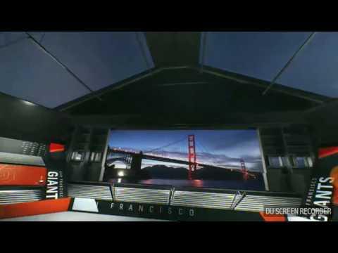 NBC Sports Bay Area SF Giants Baseball Intro 2017