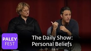"""The Daily Show Cast on """"Personal Beliefs"""" @ Paley Center"""