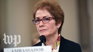 LIVE NOW | Day 2 of public Trump impeachment hearings: Marie Yovanovitch testifies
