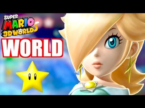 SUPER MARIO 3D WORLD - World Star (World 9) Part 2 - Gameplay Walkthrough Let's Play