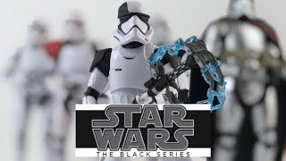 Star Wars The Black Series First Order Stormtrooper Executioner (Target Exclusive) Review