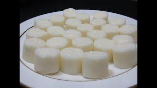 white chocolate الشوكولاتة الصلبة البيضاء في المنزل باسهل طريقة وبدقائق معدودة فقط