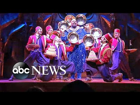 Cast of Broadways Aladdin Perform Friend Like Me  on GMA