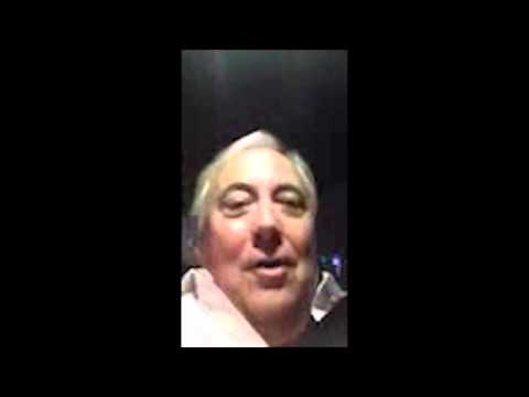 Clive Palmer - Good bye Tony, Good bye Tony, Good bye.