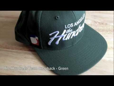 990af680dc2 The Hundreds Team Snapback Adjustable Cap - Green at The Alternative Store
