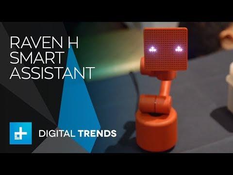 Baidu Raven H Smart Assistant at CES 2018